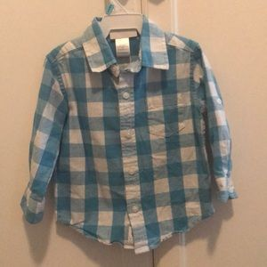Janie and Jack toddler boys shirt